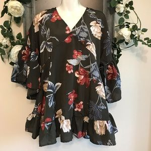 Altar'd state flowers blouse
